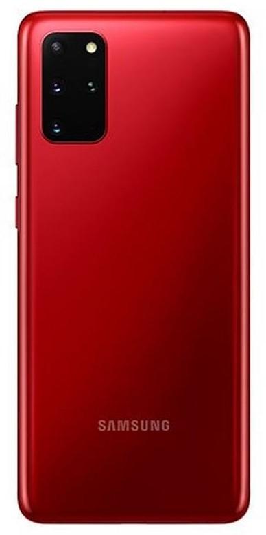 سامسونج جالاكسي إس 20 بلس, 128 حيجابايت, أحمر